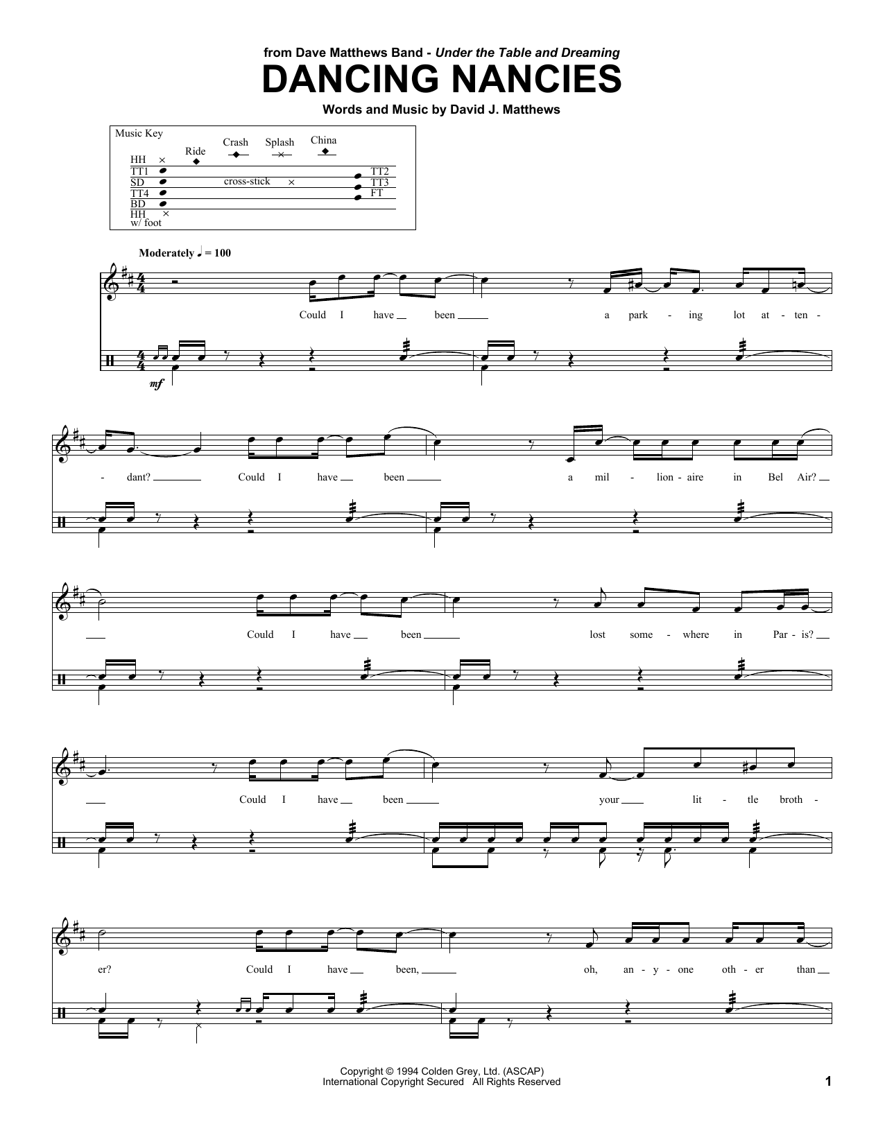 Dancing Nancies Sheet Music