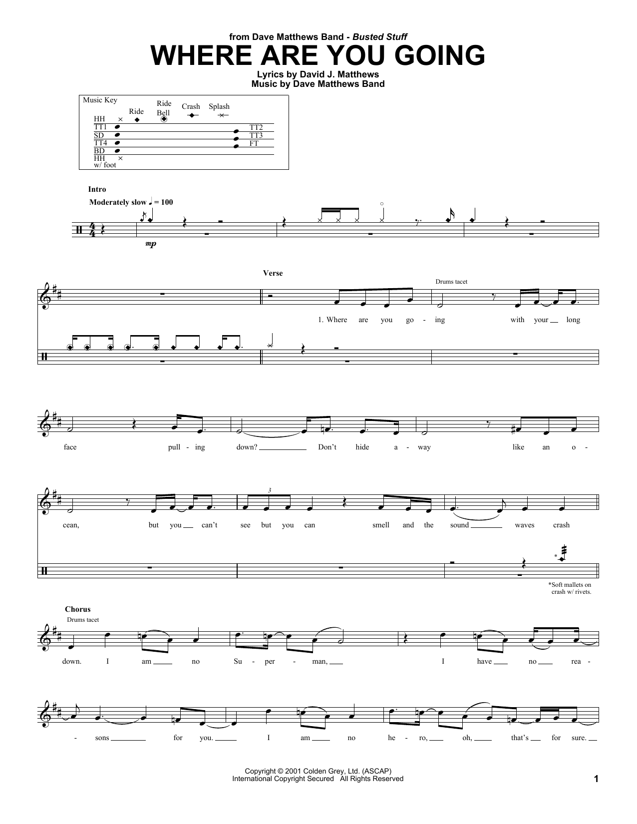 Where Are You Going Sheet Music