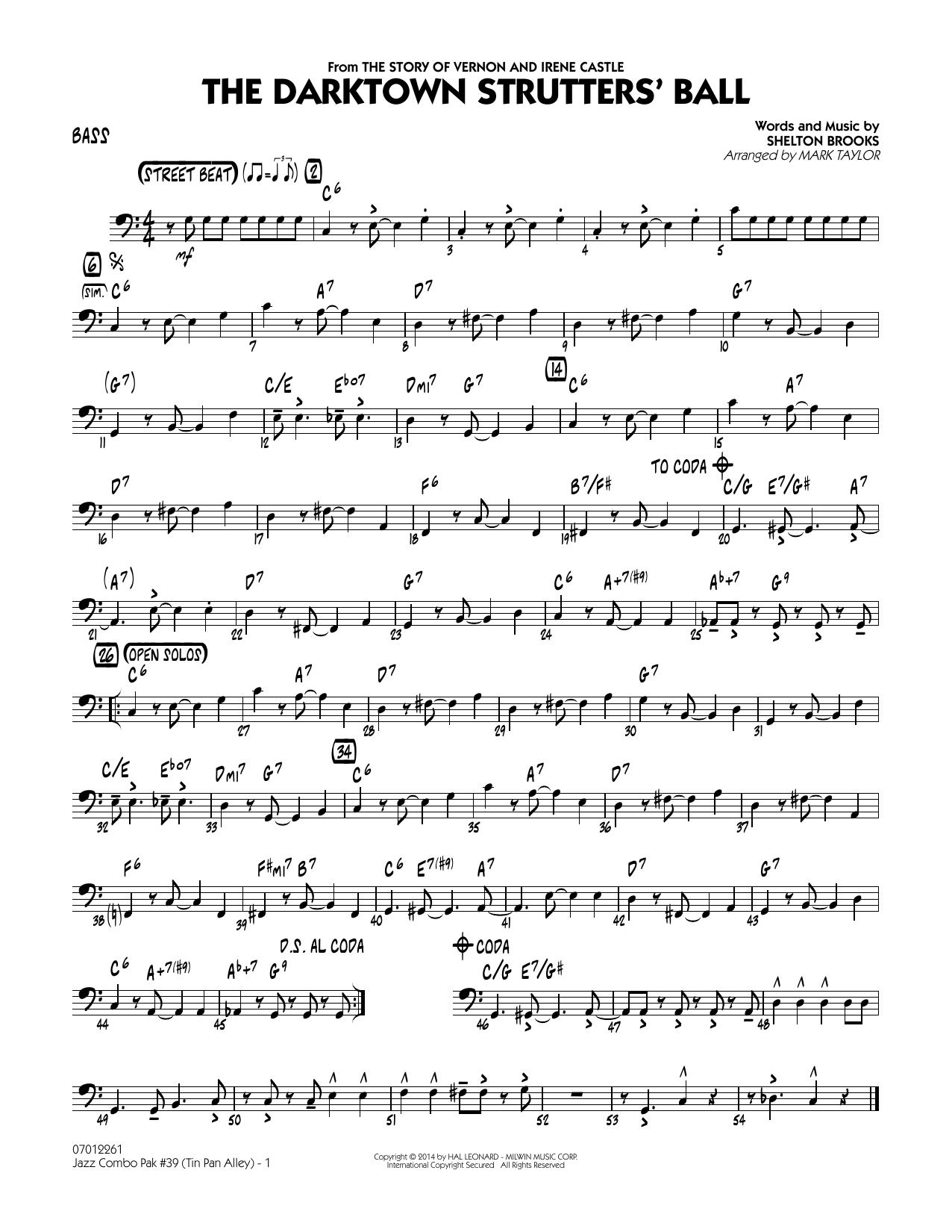 Jazz Combo Pak #39 (Tin Pan Alley) - Bass (Jazz Ensemble)