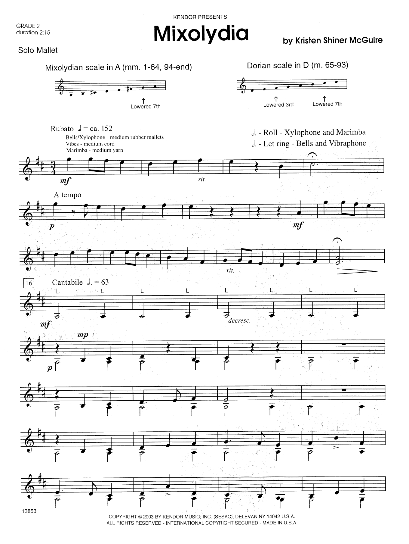 Mixolydia Sheet Music