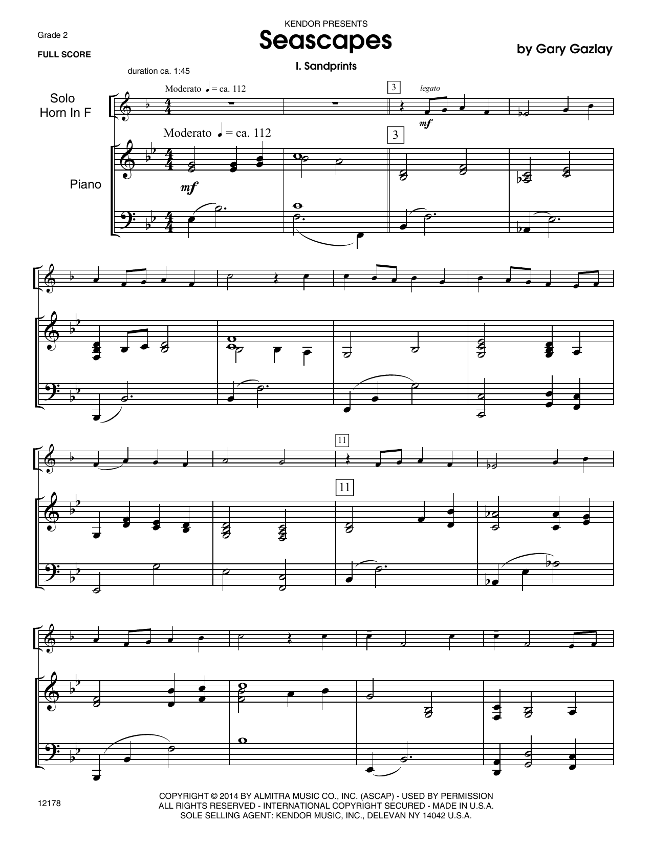 Seascapes - Piano Sheet Music