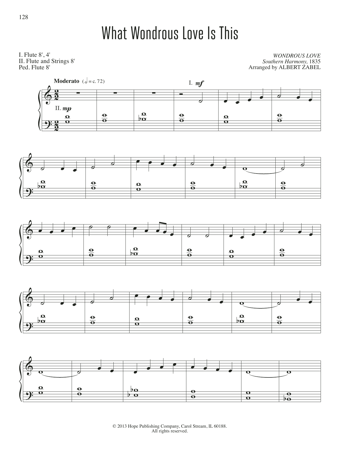 What Wondrous Love Is This Sheet Music
