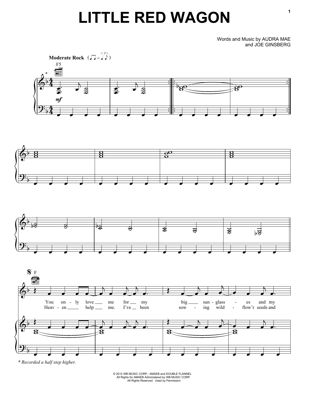 Little Red Wagon Sheet Music