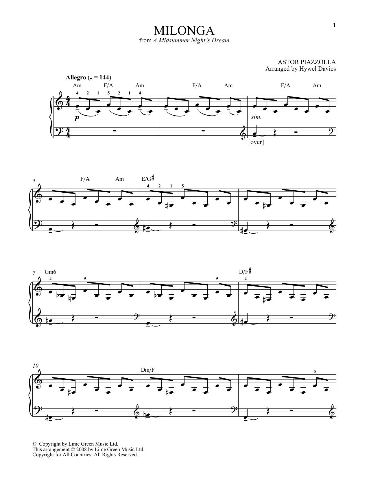 Chanson De La Naissance By Astor Piazzolla