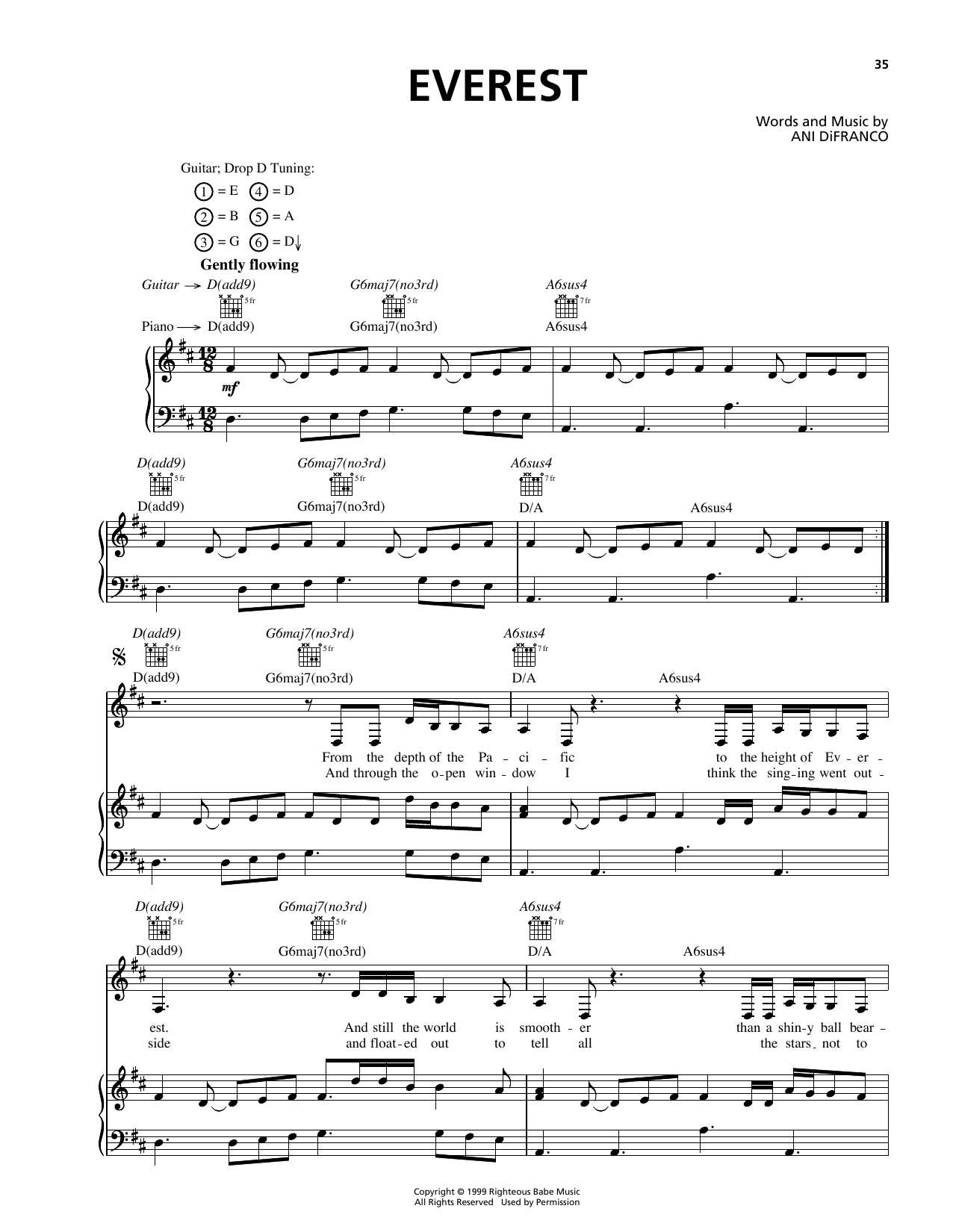 Everest Sheet Music