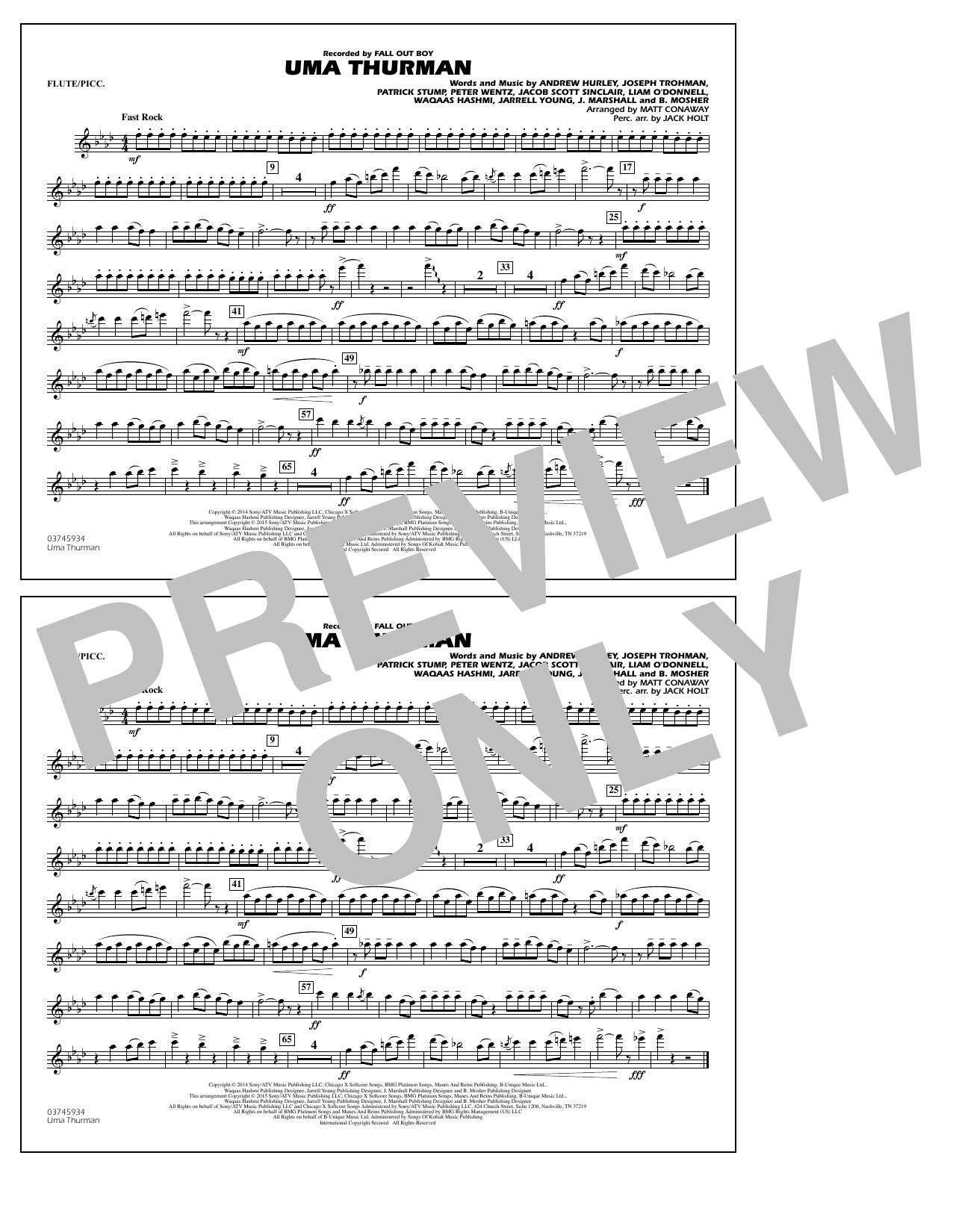 Uma Thurman - Flute/Piccolo (Marching Band)