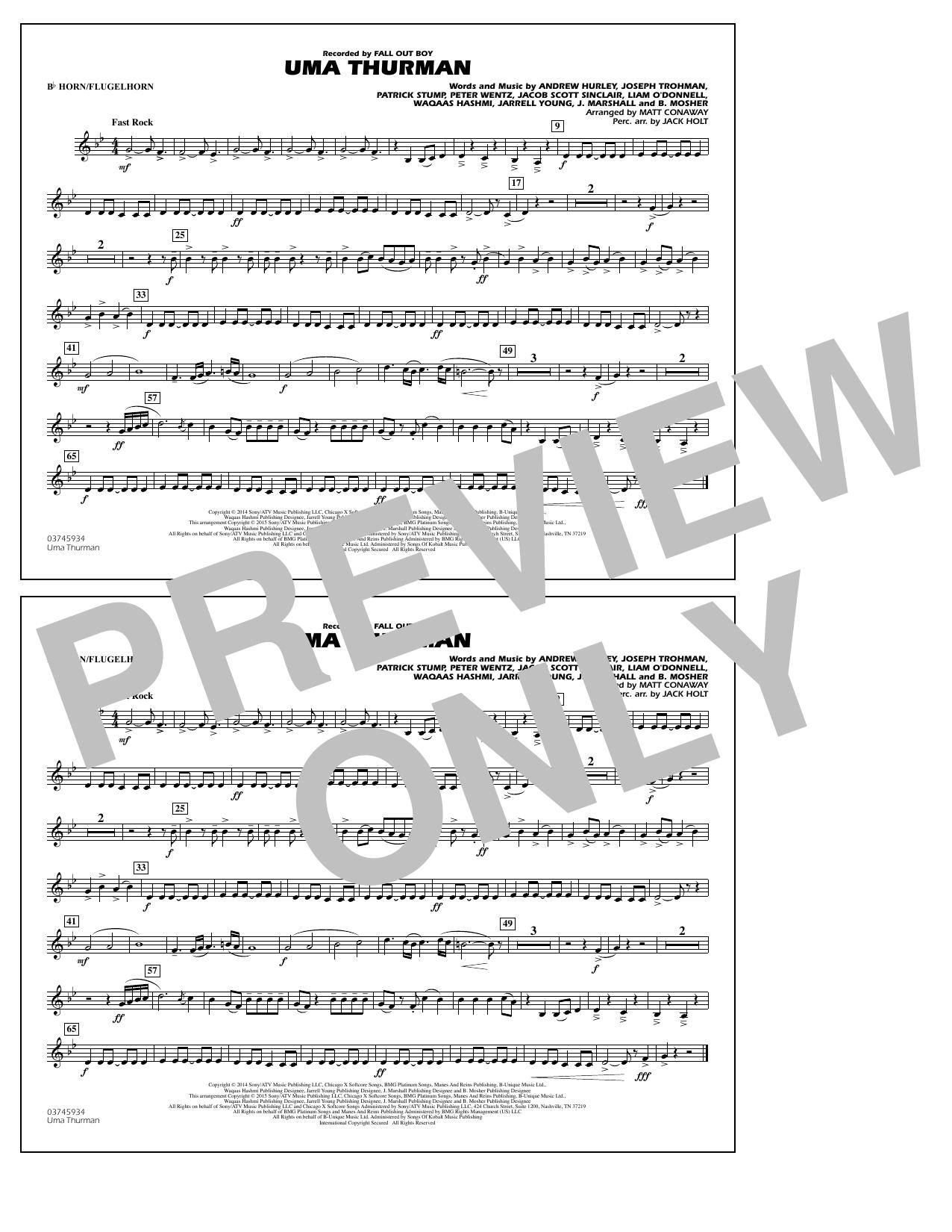 Uma Thurman - Bb Horn/Flugelhorn (Marching Band)