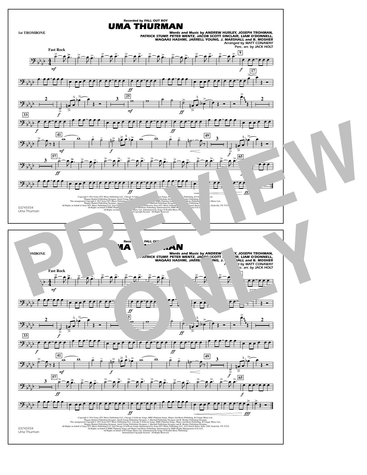 Uma Thurman - 1st Trombone (Marching Band)