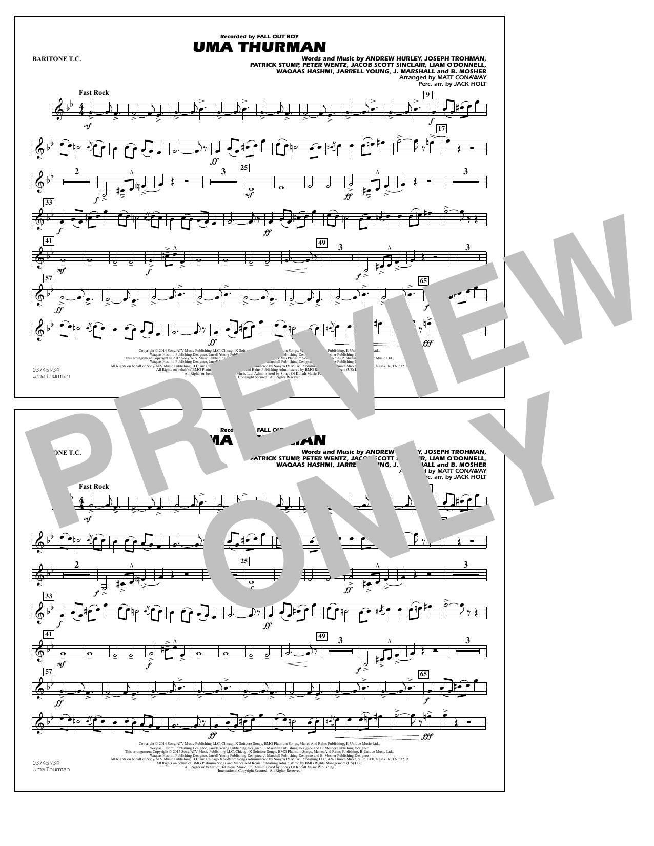 Uma Thurman - Baritone T.C. (Marching Band)