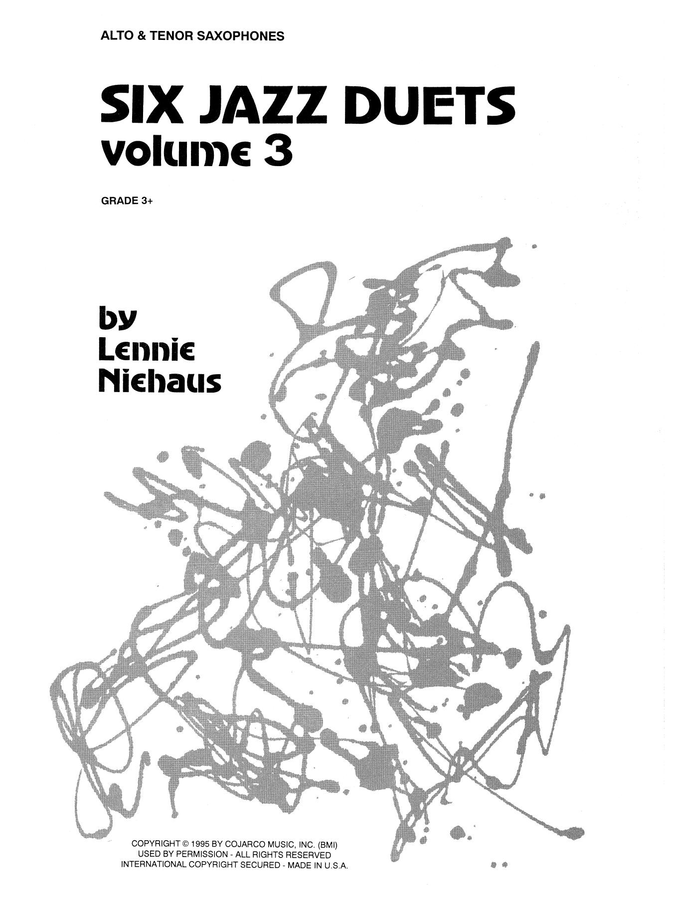 Six Jazz Duets, Volume 3 (Woodwind Ensemble)