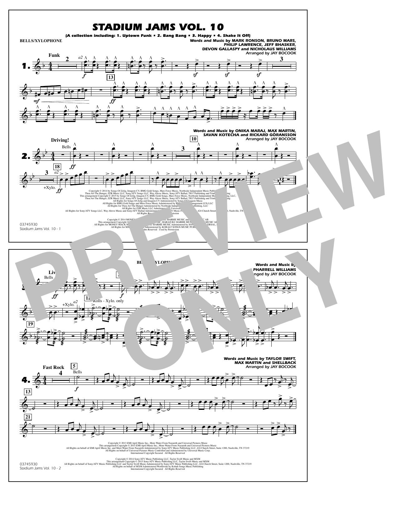 Stadium Jams Vol. 10 - Bells/Xylophone (Marching Band)