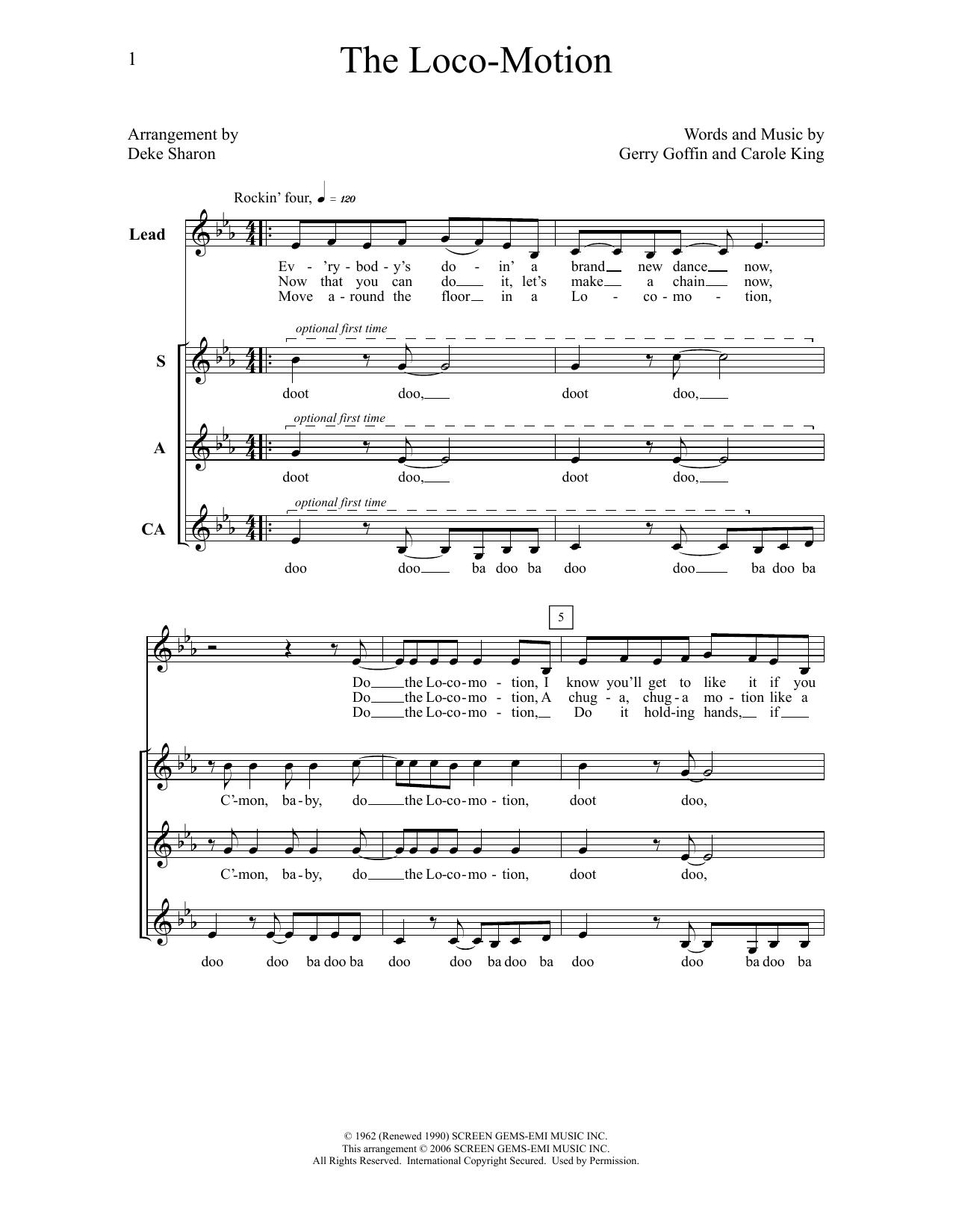 The Loco-Motion (Choir)