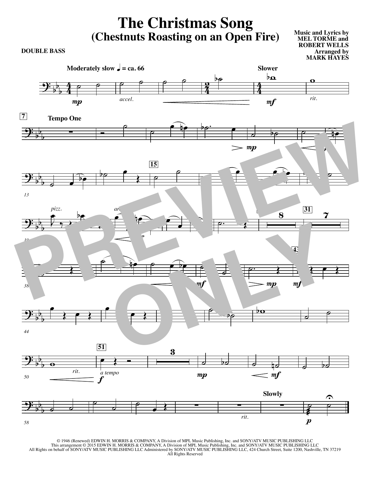 double bass solo sheet music pdf