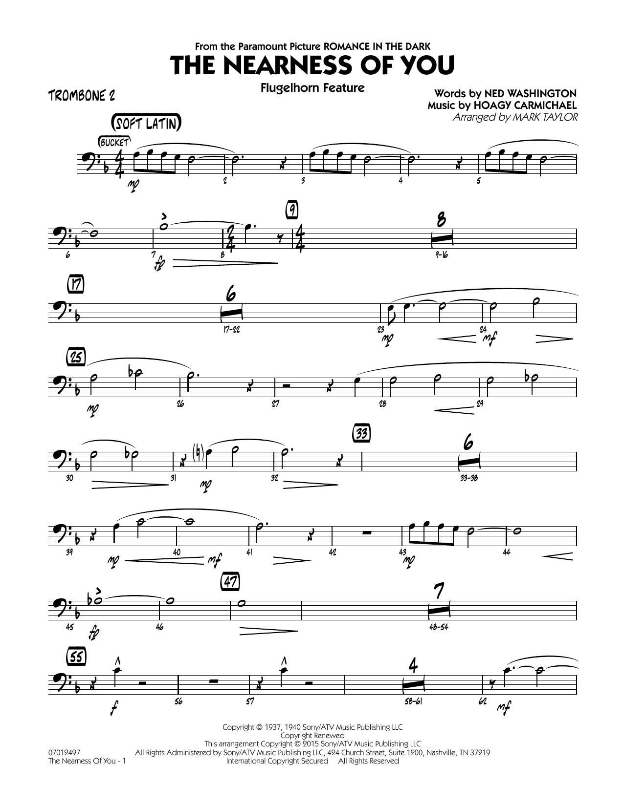 The Nearness of You (Flugelhorn Feature) - Trombone 2 (Jazz Ensemble)