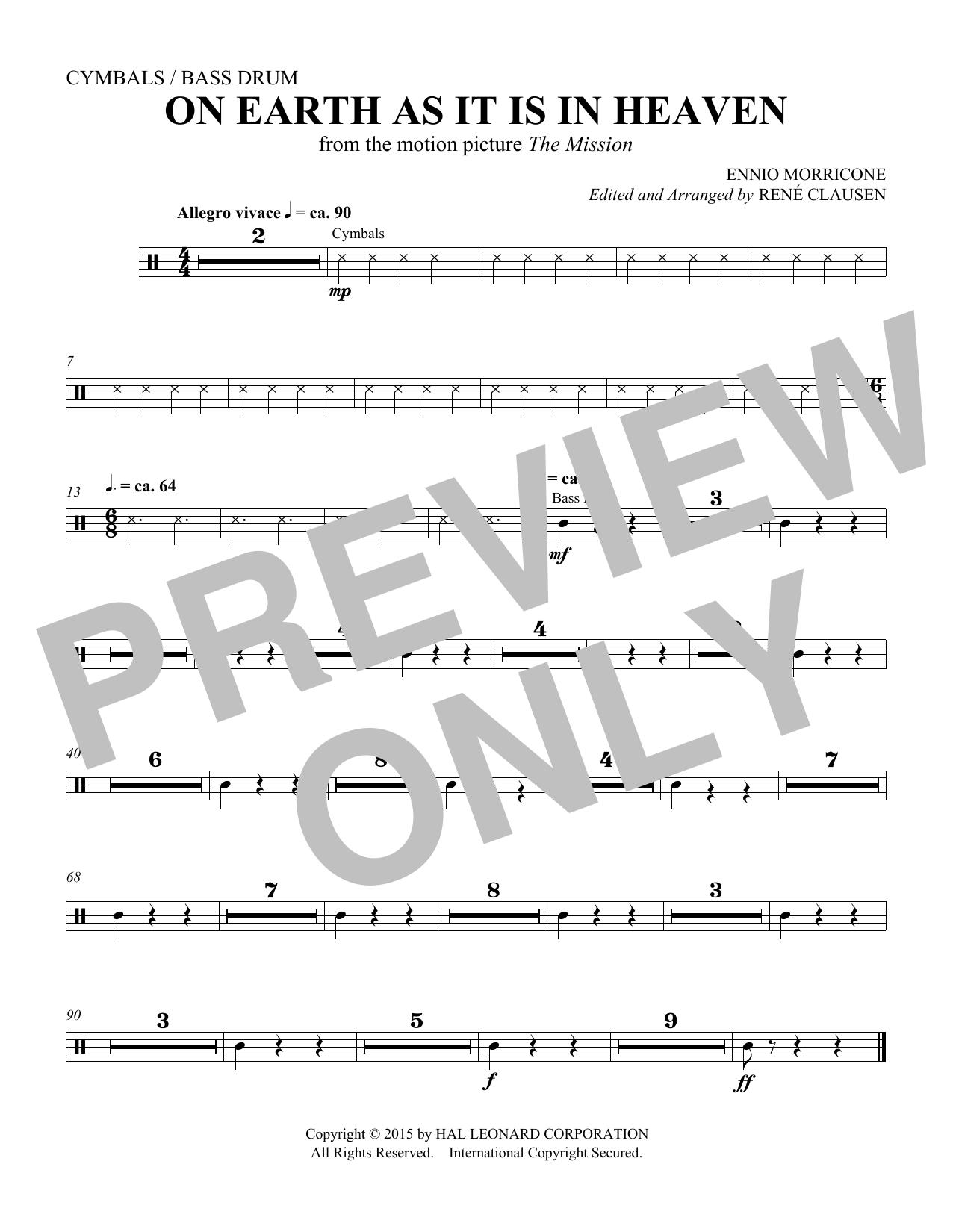 On Earth As It Is In Heaven - Percussion (Choir Instrumental Pak)