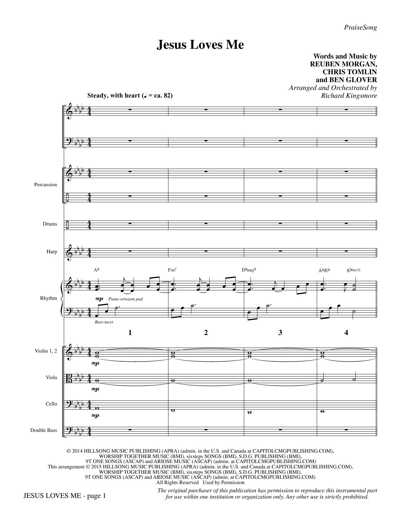 Jesus Loves Me - Full Score (Choir Instrumental Pak)