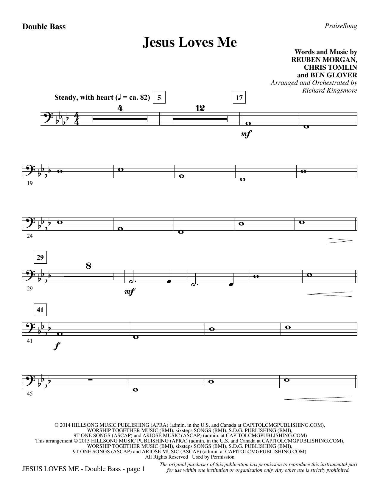 Jesus Loves Me - Double Bass (Choir Instrumental Pak)