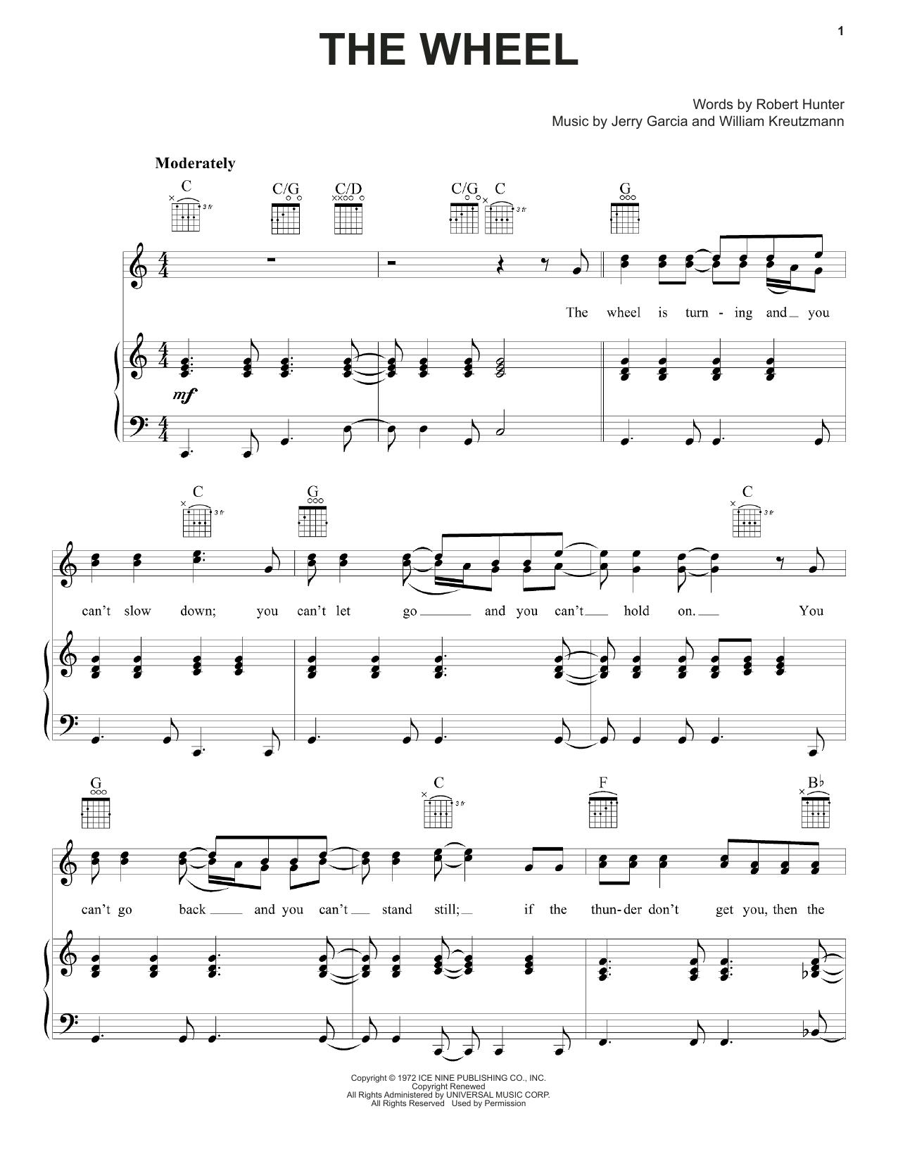 The Wheel Sheet Music