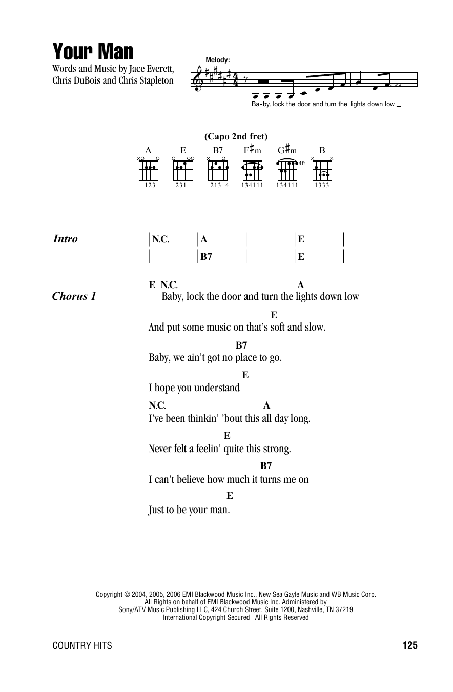Beach boys guitar chords