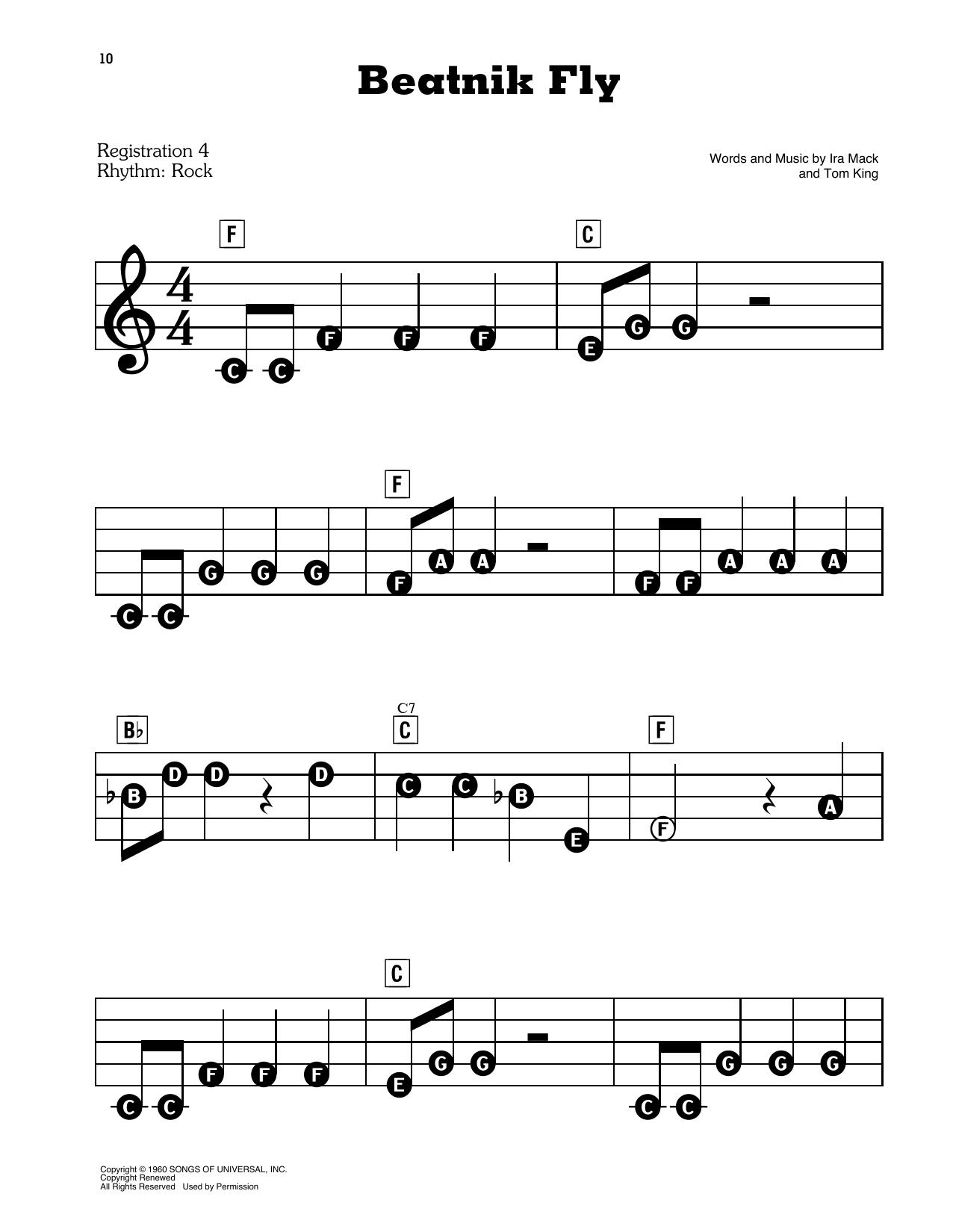 Beatnik Fly Sheet Music
