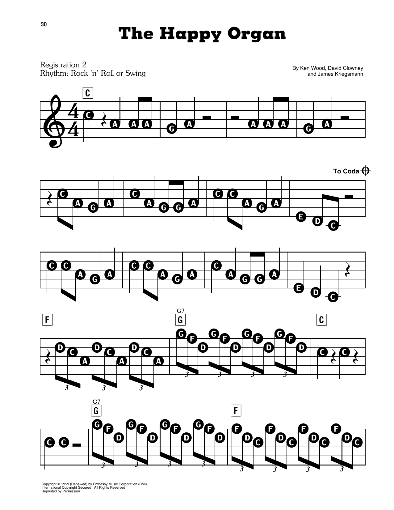 The Happy Organ (E-Z Play Today)