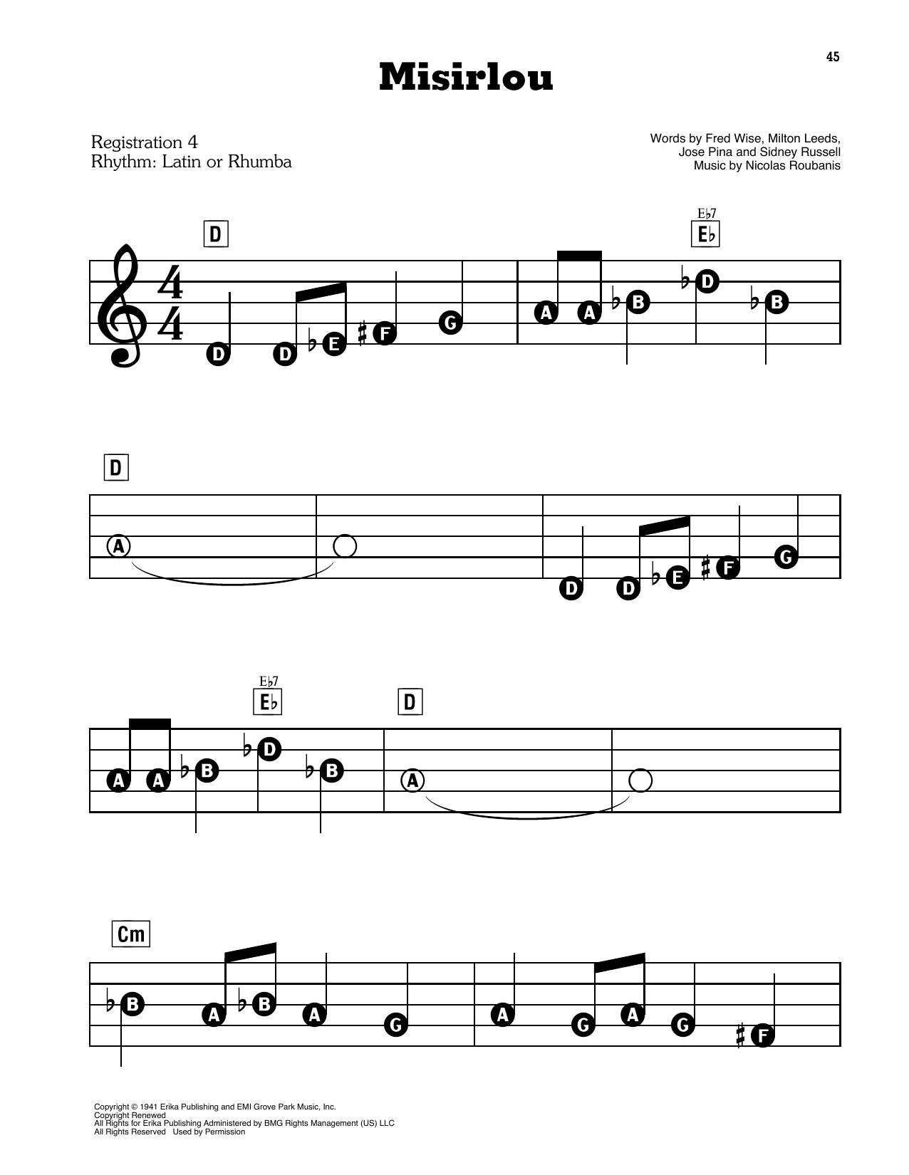 Misirlou (E-Z Play Today)