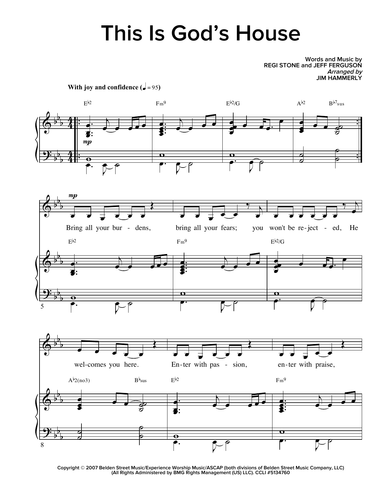 This Is God's House Sheet Music
