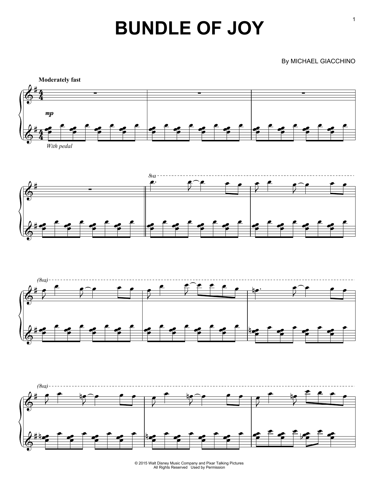 Bundle Of Joy Sheet Music