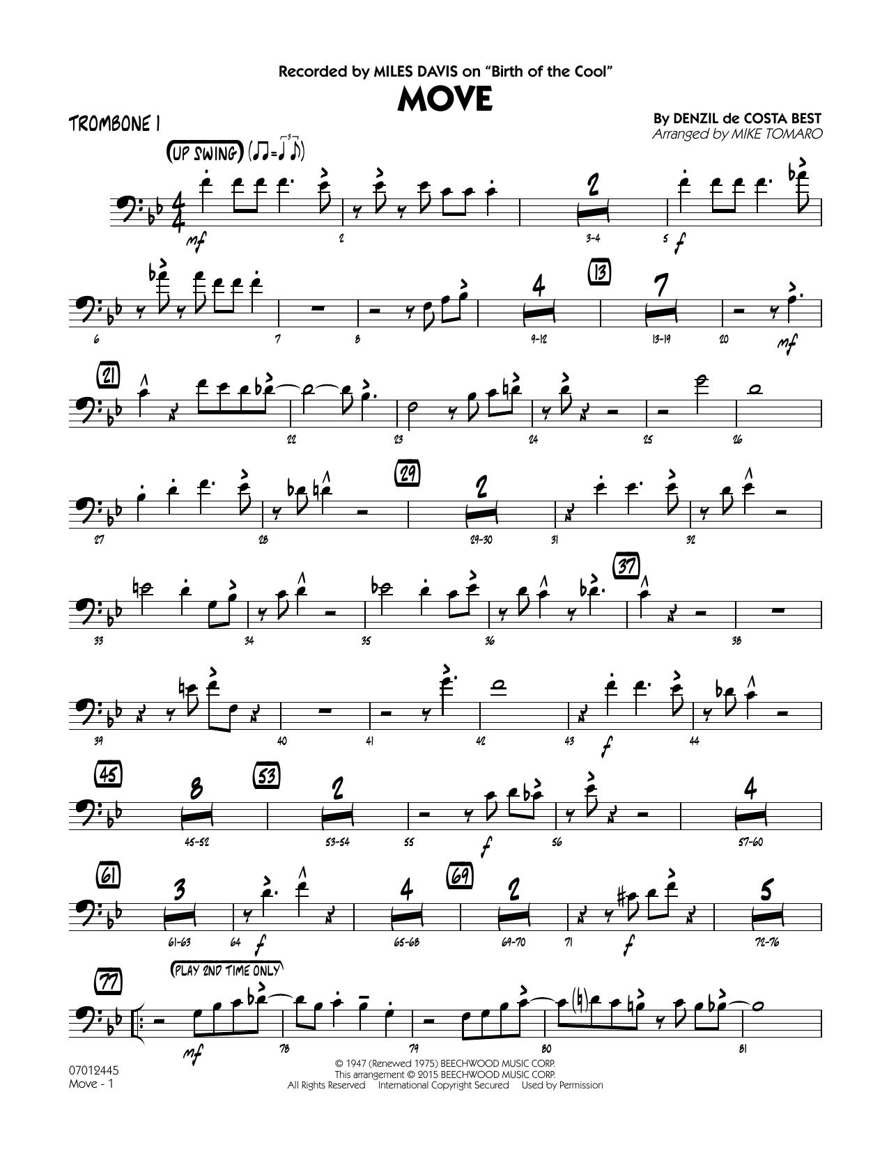 Sheet Music Digital Files To Print - Licensed Miles Davis