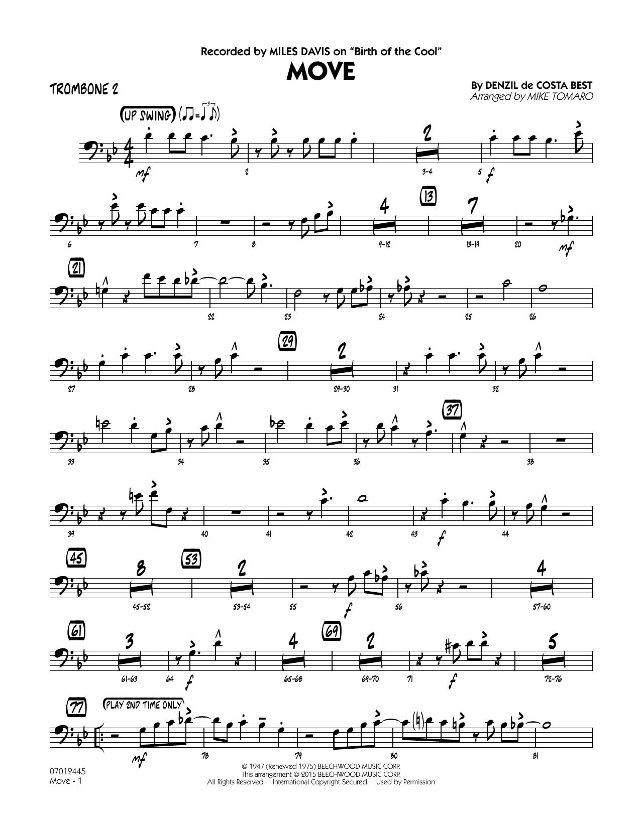 Move - Trombone 2 (Jazz Ensemble)