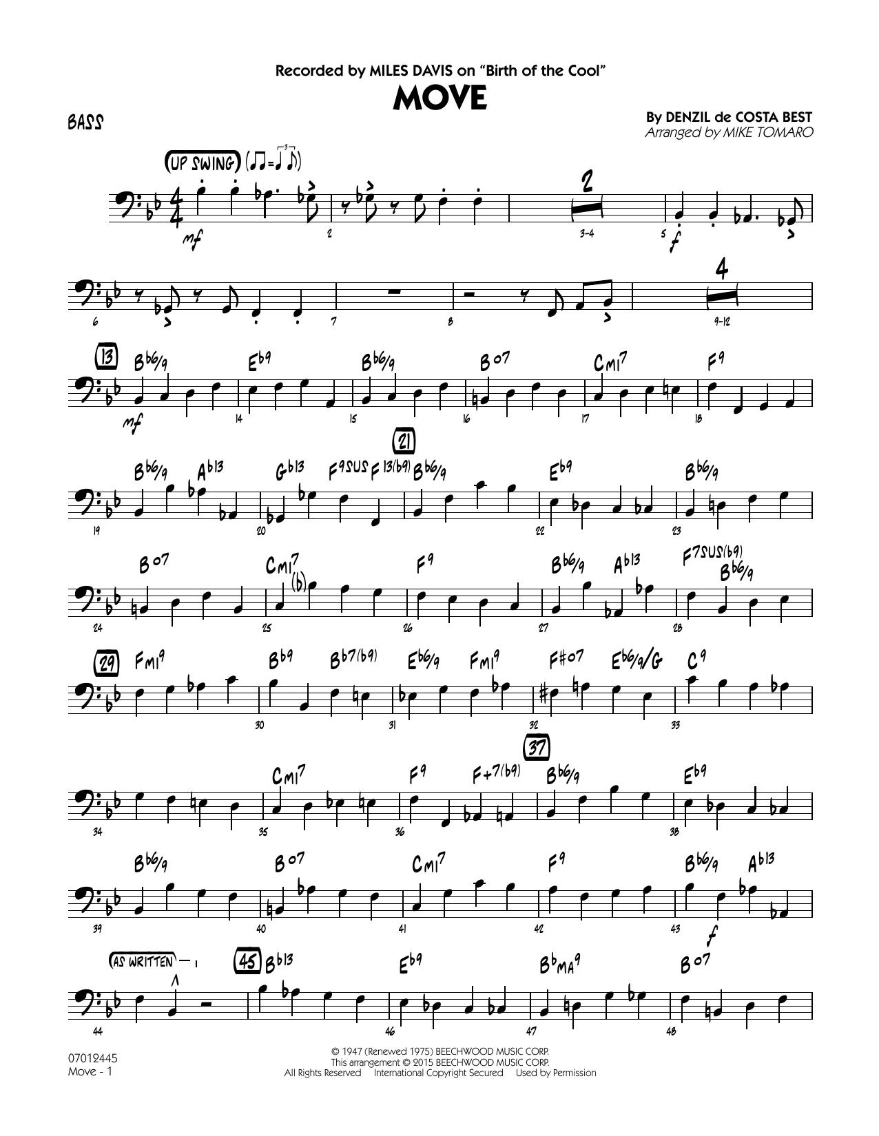 Move - Bass (Jazz Ensemble)