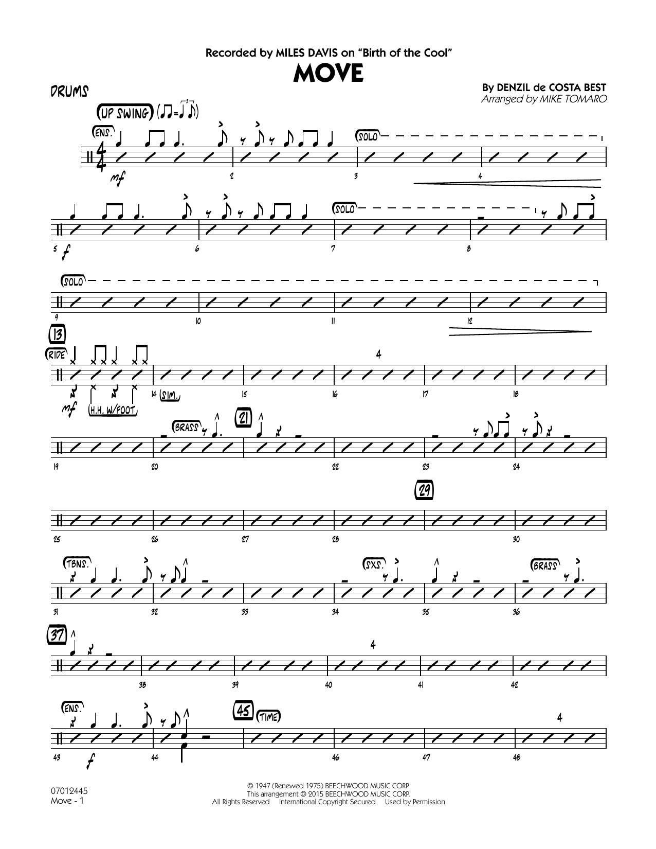Move - Drums (Jazz Ensemble)