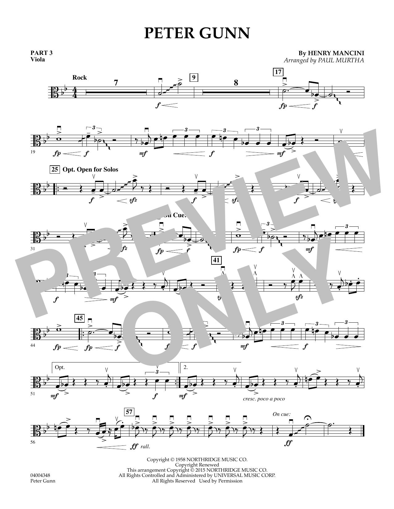 Peter Gunn - Pt.3 - Viola (Flex-Band)