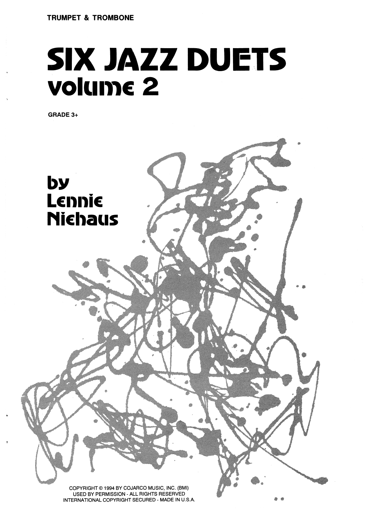 Six Jazz Duets, Volume 2 Sheet Music