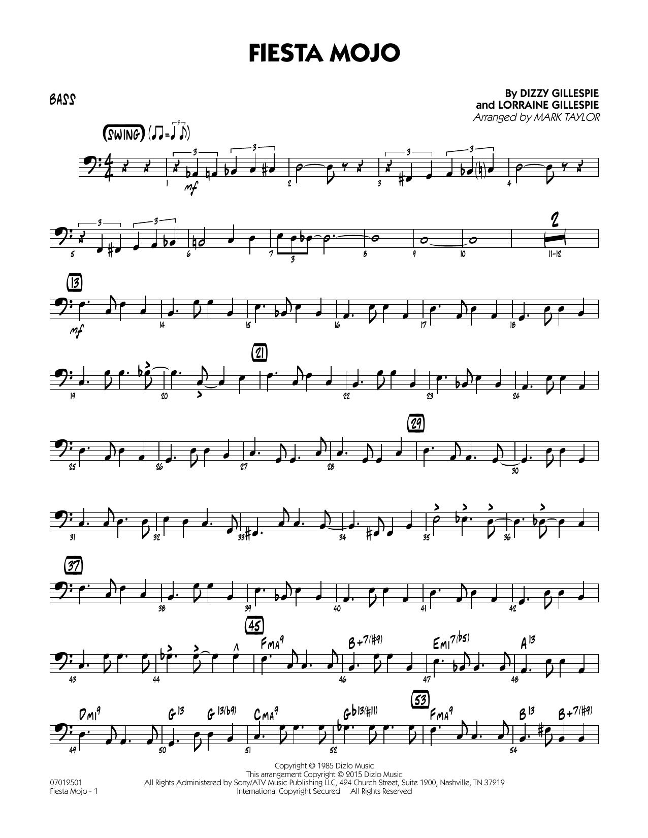 Fiesta Mojo - Bass (Jazz Ensemble)