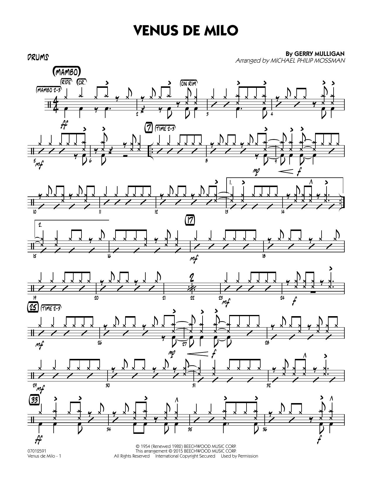 Venus de Milo - Drums (Jazz Ensemble)