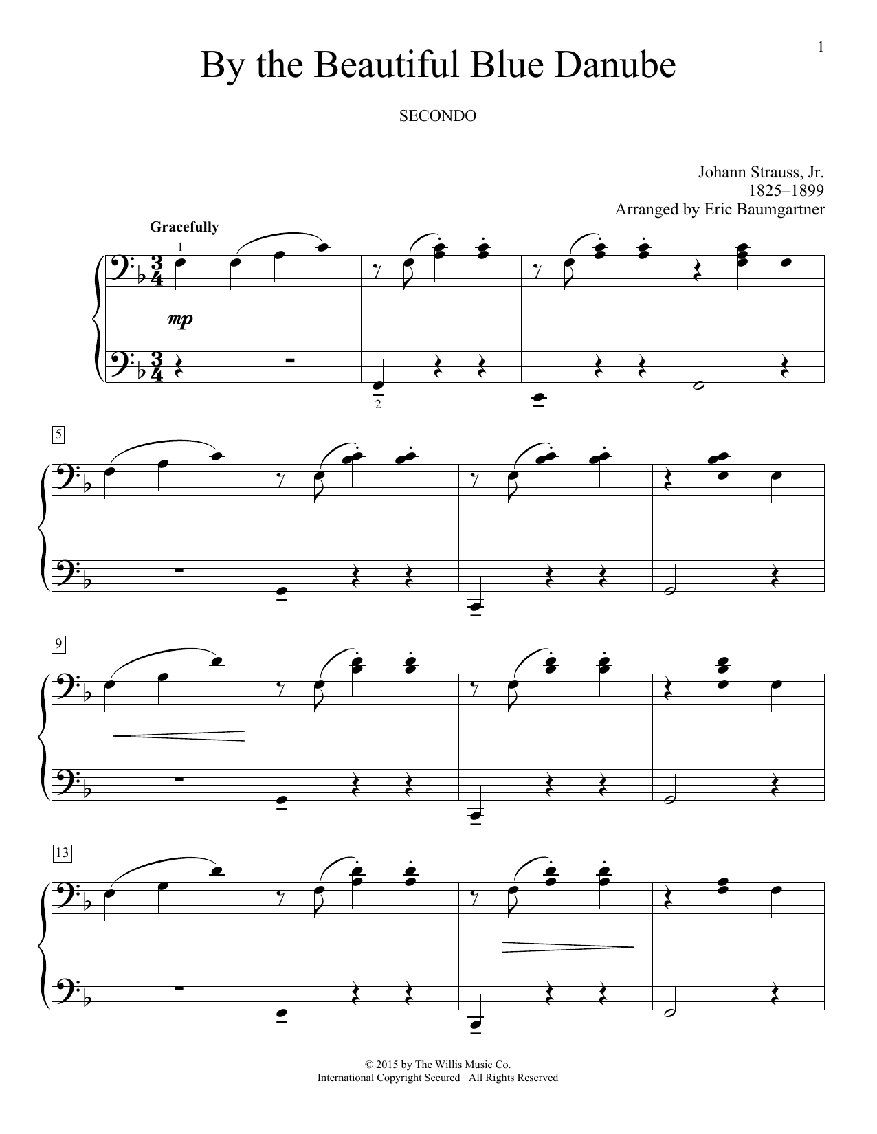 By The Beautiful Blue Danube Sheet Music