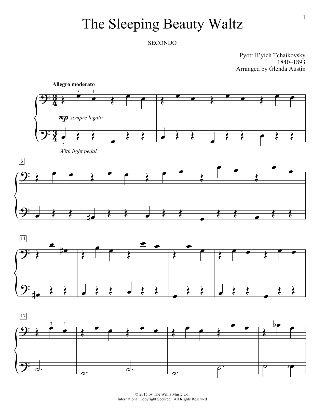 The Sleeping Beauty Waltz Sheet Music