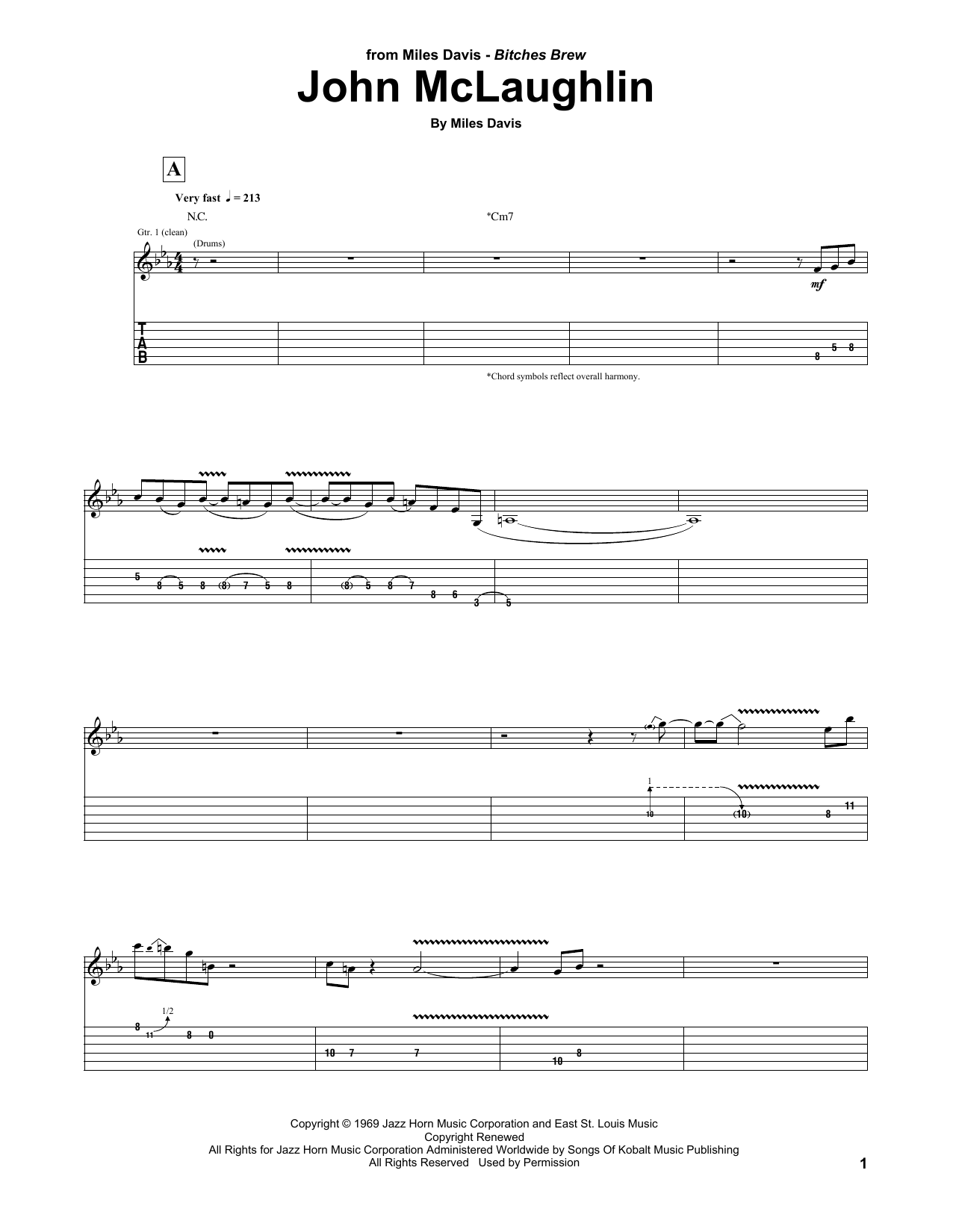 John McLaughlin Sheet Music