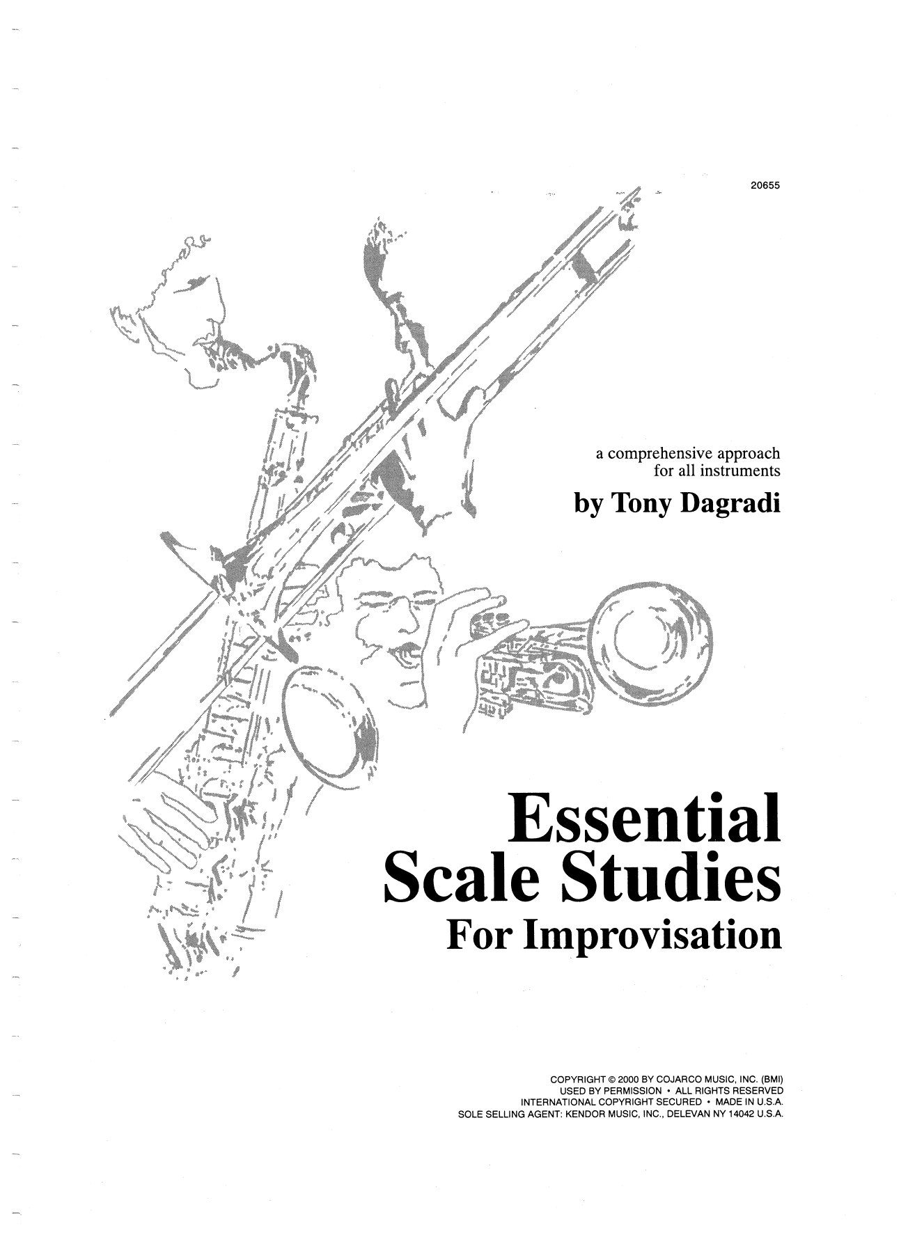 Essential Scale Studies For Improvisation Partituras Digitales