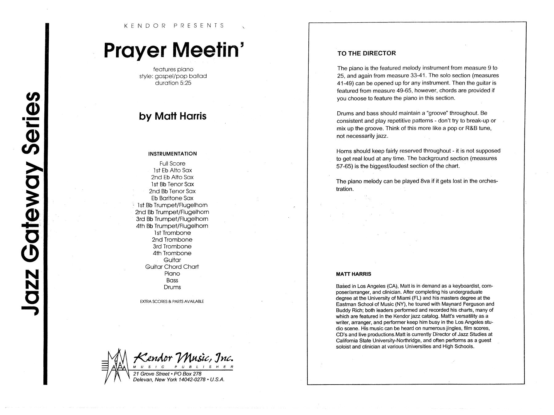 Prayer Meetin Band Music Download