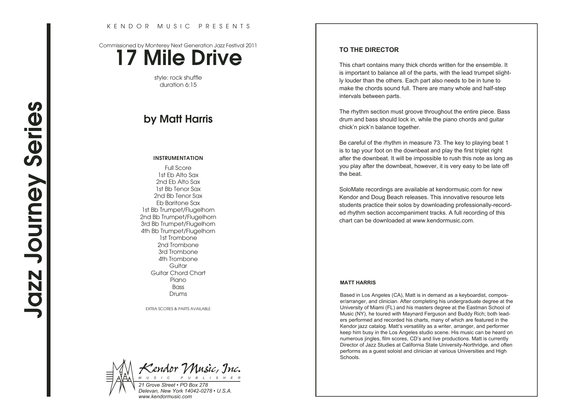 17 Mile Drive - Band Music Download