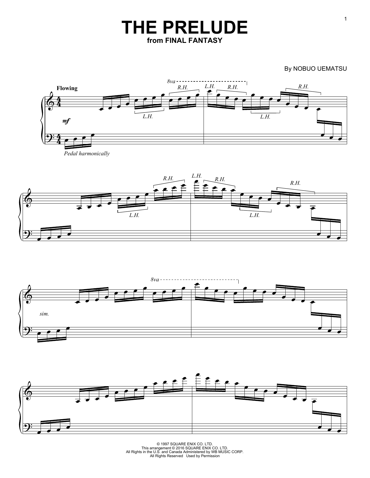 The Prelude Sheet Music