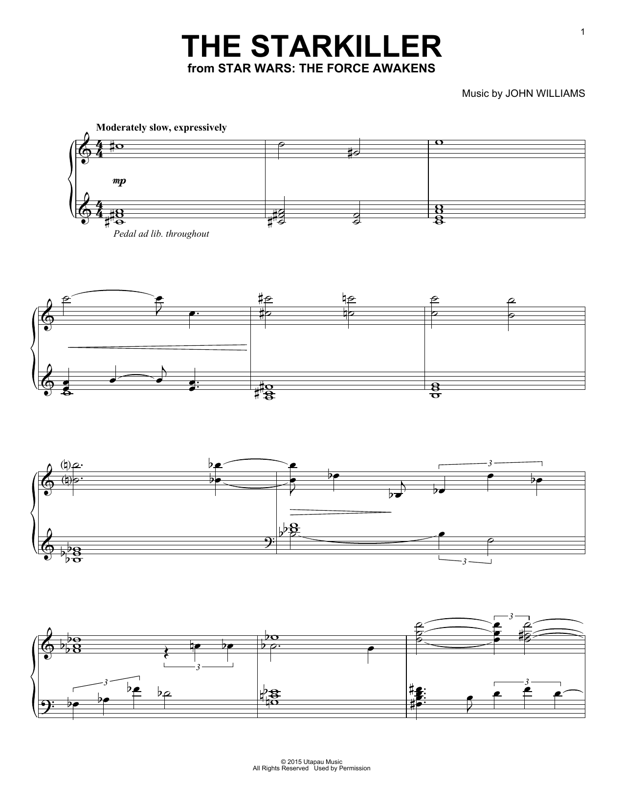 The Starkiller Sheet Music