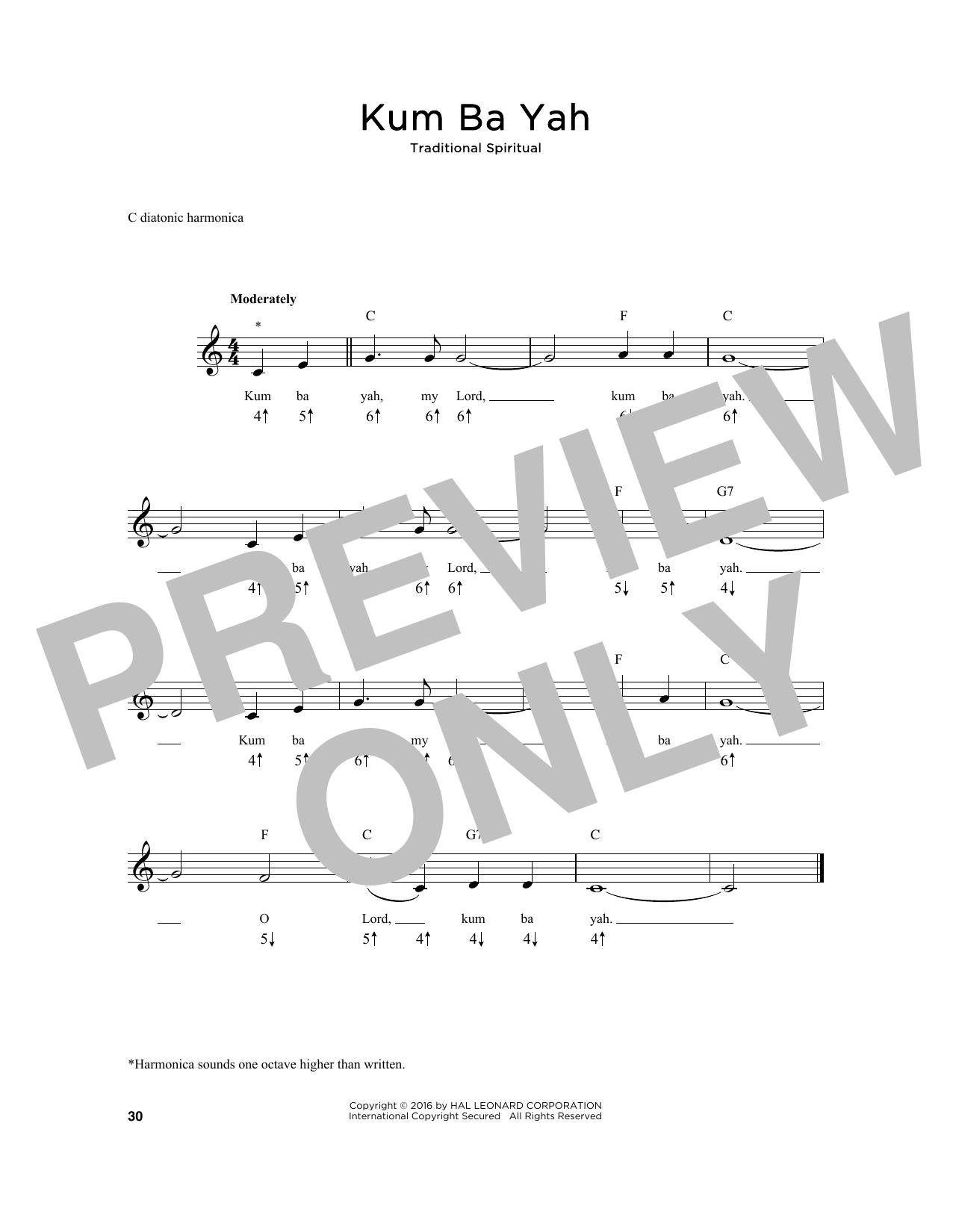 Kum Ba Yah (Harmonica)