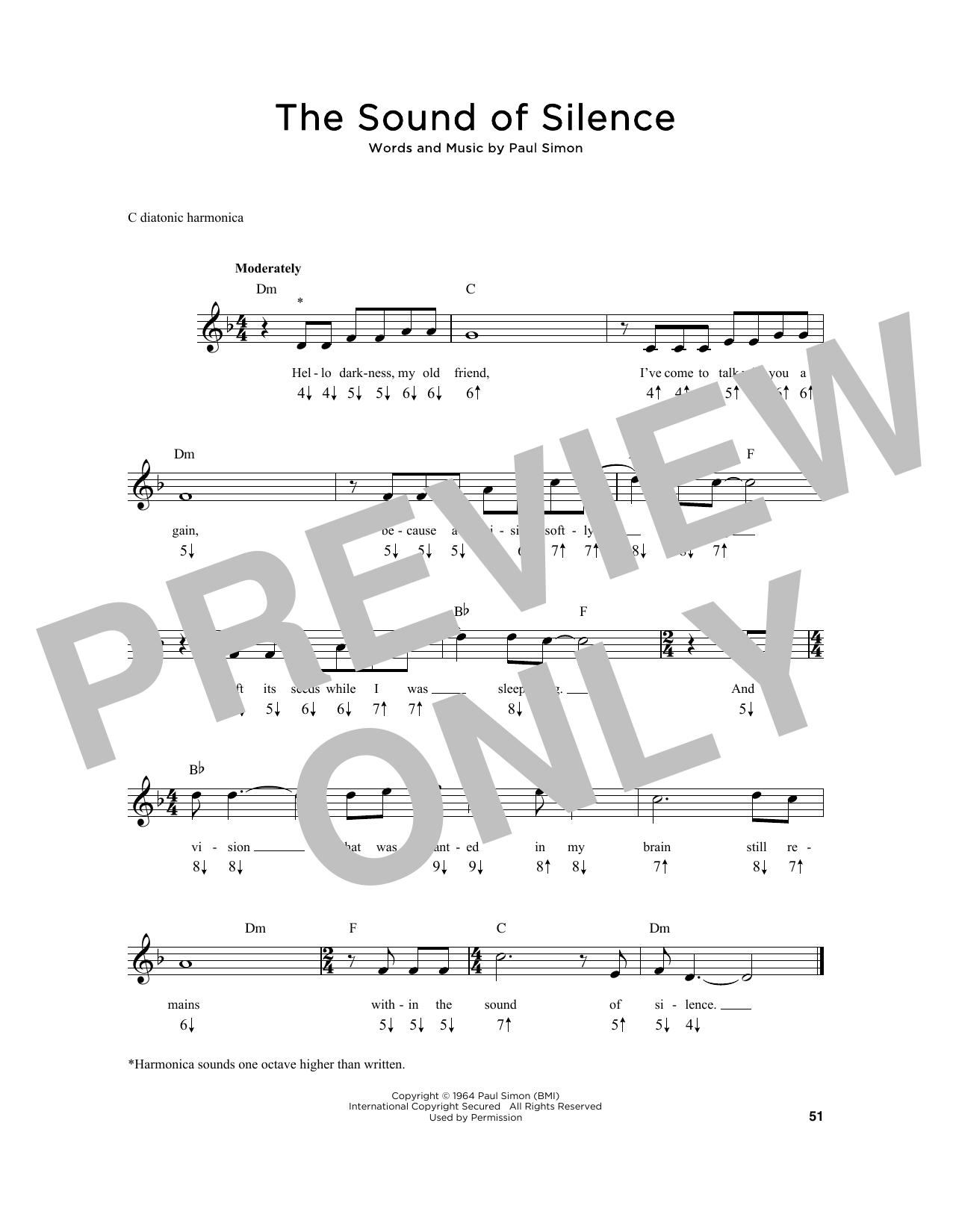 The Sound Of Silence (Harmonica)