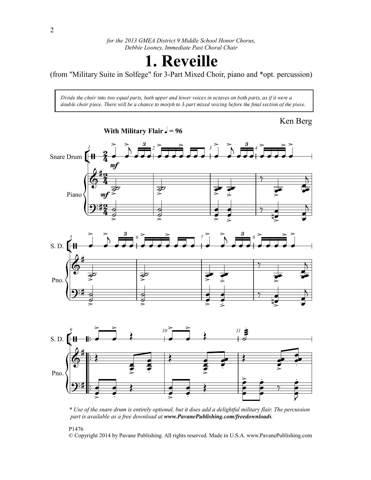 Reveille Sheet Music