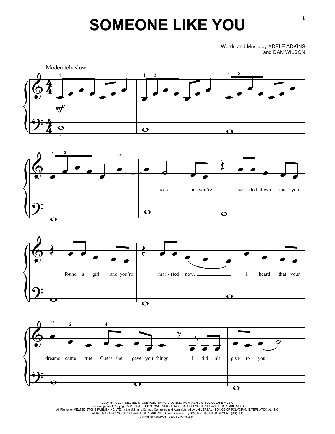 Someone like you sheet music direct sheet preview someone like you hexwebz Image collections