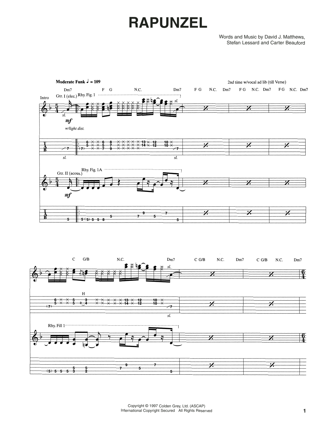 Rapunzel Sheet Music