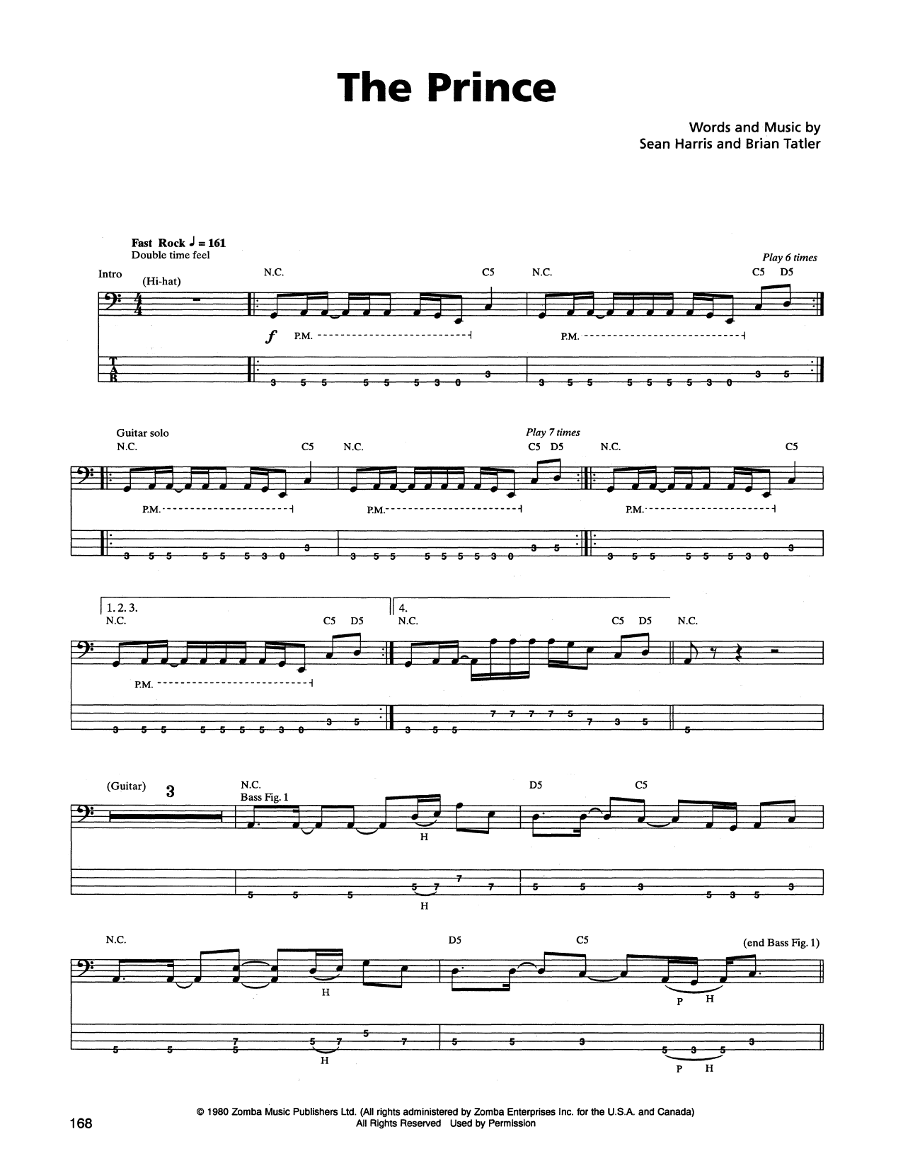 The Prince Sheet Music